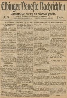Elbinger Neueste Nachrichten, Nr. 292 Dienstag 3 Dezember 1912 64. Jahrgang