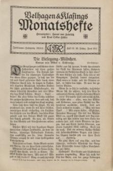 Velhagen & Klasings Monatshefte. Juni 1911, Jg. XXV. Heft 10.