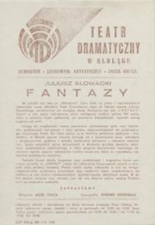 Fantazy – ulotka