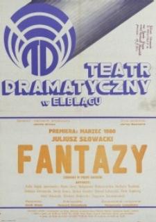 Fantazy – afisz