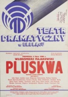 Pluskwa – afisz
