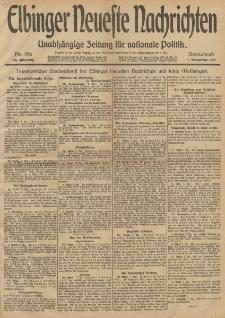 Elbinger Neueste Nachrichten, Nr. 297 Sonntag 8 Dezember 1912 64. Jahrgang