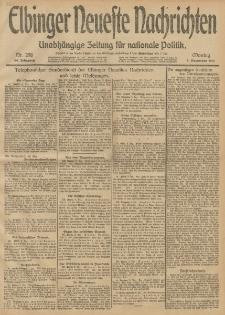 Elbinger Neueste Nachrichten, Nr. 298 Montag 9 Dezember 1912 64. Jahrgang