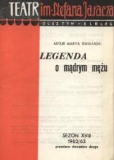 Legenda o mądrym mężu – program teatralny