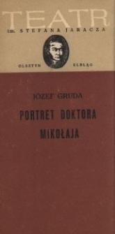 Portret doktora Mikołaja - program teatralny
