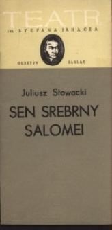Sen srebrny Salomei – program teatralny