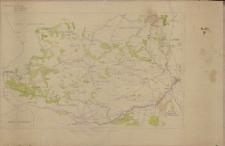 Powiaty Olkuski, Miechowski, Pińczowski: mapa obszarów leśnych