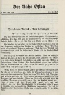 Der Nahe Osten, 15. Januar 1928, 1. Jahrgang, H. 2