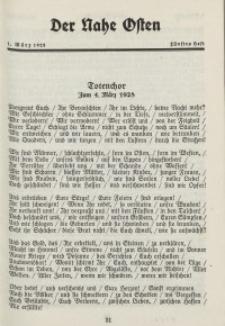 Der Nahe Osten, 1. März 1928, 1. Jahrgang, H. 5