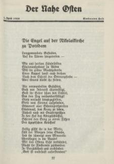 Der Nahe Osten, 1. April 1928, 1. Jahrgang, H. 7
