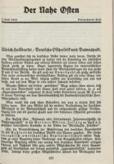 Der Nahe Osten, 1. Juli 1928, 1. Jahrgang, H. 13