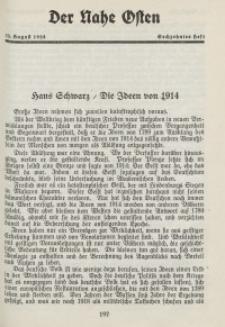 Der Nahe Osten, 15. August 1928, 1. Jahrgang, H. 16