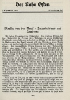 Der Nahe Osten, 1. September 1928, 1. Jahrgang, H. 17