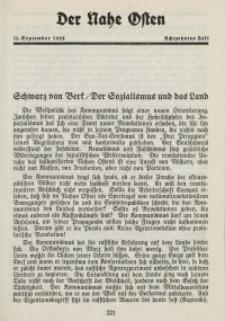 Der Nahe Osten, 15. September 1928, 1. Jahrgang, H. 18