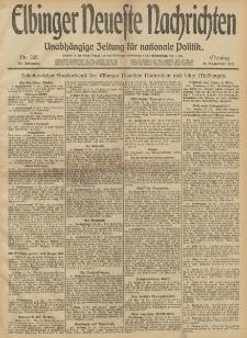 Elbinger Neueste Nachrichten, Nr. 305 Montag 16 Dezember 1912 64. Jahrgang