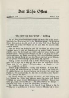 Der Nahe Osten, 1. Februar 1929, 2. Jahrgang, H. 3