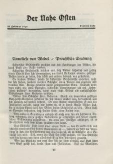Der Nahe Osten, 15. Februar 1929, 2. Jahrgang, H. 4