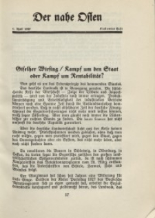 Der Nahe Osten, 1. April 1929, 2. Jahrgang, H. 7