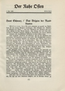 Der Nahe Osten, 1. Juni 1929, 2. Jahrgang, H. 11