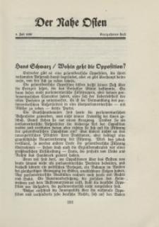 Der Nahe Osten, 1. Juli 1929, 2. Jahrgang, H. 13