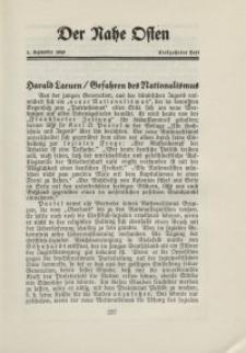 Der Nahe Osten, 1. September 1929, 2. Jahrgang, H. 17