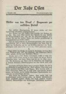 Der Nahe Osten, 1. November 1929, 2. Jahrgang, H. 21