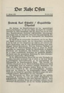 Der Nahe Osten, 15. Februar 1930, 3. Jahrgang, H. 4
