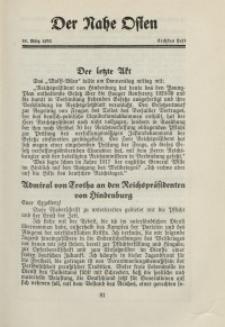Der Nahe Osten, 15. März 1930, 3. Jahrgang, H. 6