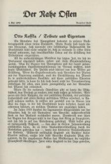 Der Nahe Osten, 1. Mai 1930, 3. Jahrgang, H. 9