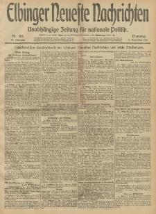 Elbinger Neueste Nachrichten, Nr. 306 Dienstag 17 Dezember 1912 64. Jahrgang