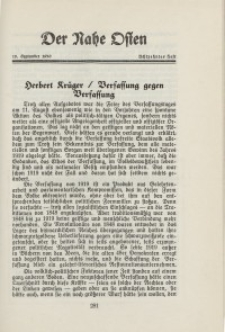 Der Nahe Osten, 15. September 1930, 3. Jahrgang, H. 18