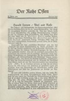 Der Nahe Osten, 15. Januar 1931, 4. Jahrgang, H. 2