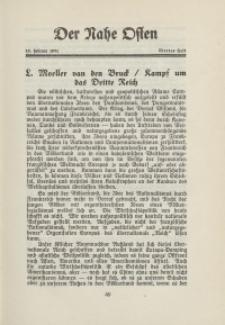 Der Nahe Osten, 15. Februar 1931, 4. Jahrgang, H. 4