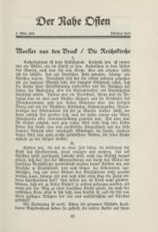 Der Nahe Osten, 1. März 1931, 4. Jahrgang, H. 5