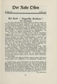 Der Nahe Osten, 15. März 1931, 4. Jahrgang, H. 6