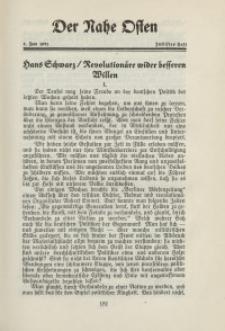 Der Nahe Osten, 1. Juni 1931, 4. Jahrgang, H. 12