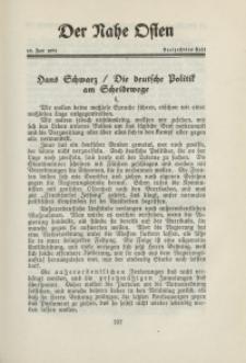Der Nahe Osten, 15. Juni 1931, 4. Jahrgang, H. 13