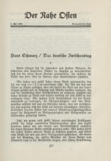 Der Nahe Osten, 1. Juli 1931, 4. Jahrgang, H. 14