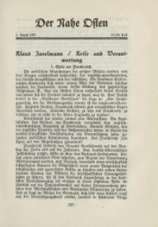 Der Nahe Osten, 1. August 1931, 4. Jahrgang, H. 15-16