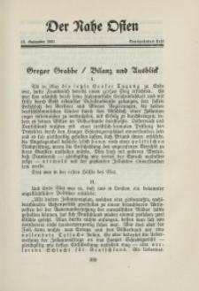 Der Nahe Osten, 15. September 1931, 4. Jahrgang, H. 19