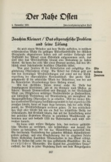Der Nahe Osten, 1. Novemver 1931, 4. Jahrgang, H. 22