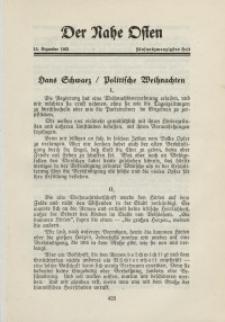 Der Nahe Osten, 15. Dezember 1931, 4. Jahrgang, H. 25