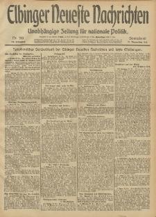Elbinger Neueste Nachrichten, Nr. 310 Sonnabend 21 Dezember 1912 64. Jahrgang