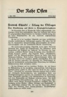 Der Nahe Osten, 1. Juni 1932, 5. Jahrgang, H. 11