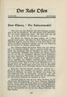 Der Nahe Osten, 15. Juni 1932, 5. Jahrgang, H. 12