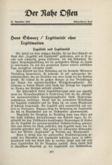Der Nahe Osten, 15. September 1932, 5. Jahrgang, H. 18
