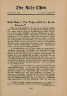 Der Nahe Osten, 15. Dezember 1933, 6. Jahrgang, H. 24