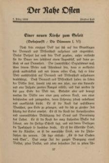 Der Nahe Osten, 1. März 1934, 7. Jahrgang, H. 5