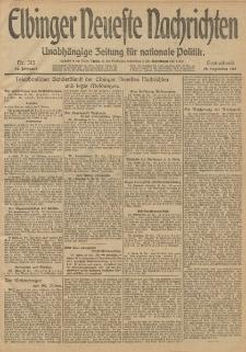 Elbinger Neueste Nachrichten, Nr. 315 Sonnabend 28 Dezember 1912 64. Jahrgang