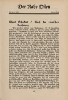 Der Nahe Osten, 15. April 1934, 7. Jahrgang, H. 8